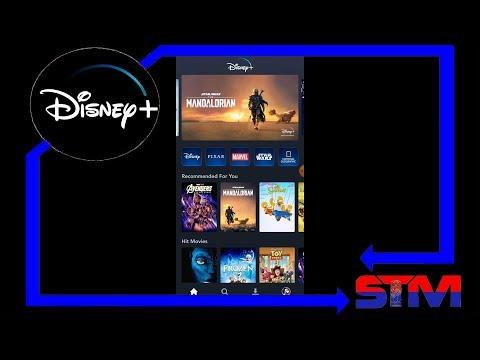 Disney Plus App Launches! Lets take a tour!