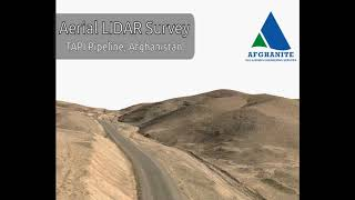 TAPI PIPELINE ROUTE SURVEY (USING AERIAL LIDAR TECHNOLOGY)