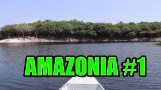 Amazonia vlog 1 - deštný prales,  jedovatá zvířata,dvě báby ve vodě [CaptainJTV]