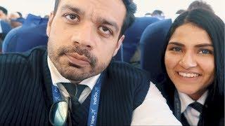 She embarrassed me on Srinagar flight