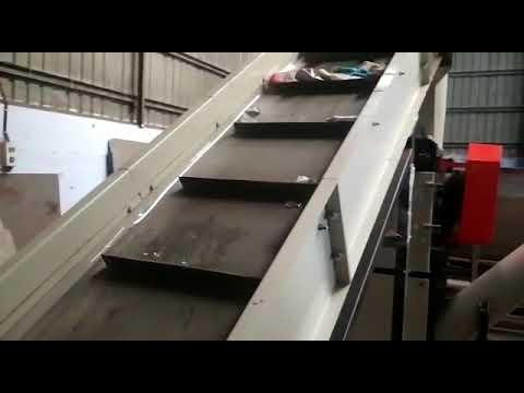 Plastic Scrap Friction Washer Machine