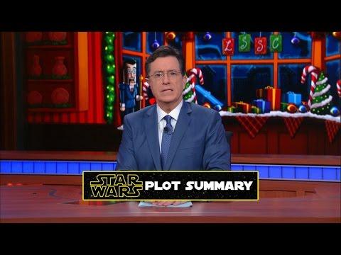 Stephen vysvětluje Číňanům, o čem jsou Star Wars