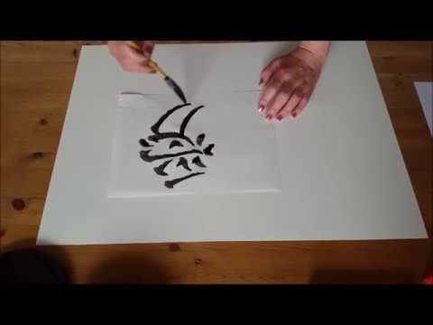 Achtsamkeit durch Kunst & chinesische Kalligraphie - Die Regelschrift