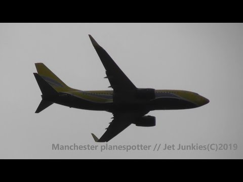 (HD) ASL Airlines France Boeing 737-73S F-GZTQ On 50883 Heading To Manchester Airport  On 16/09/2019