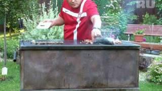 Рыба  на гриле от Сержа Марковича