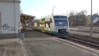 preview picture of video 'BR 650 (VT50, VBG) bei der Ausfahhrt nach Plauen - Weischlitz'
