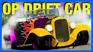 Forza Horizon 4 : The OP Drift Car!! (FH4 Ford Roadster)