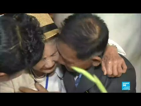 Korean family reunions: Long-awaited encounter brings tears for separated families
