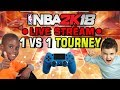 NBA 2K18 LIVE 1 vs 1 Tournament
