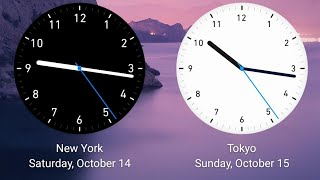 How to add two clocks on Home screen - GSM Spotify