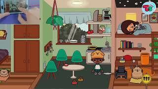 Tham quan trường học của AKTây trong Toca Life School