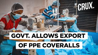 India To Export 50 Lakh PPE Coveralls Per Month To Boost Make In India Export - Download this Video in MP3, M4A, WEBM, MP4, 3GP