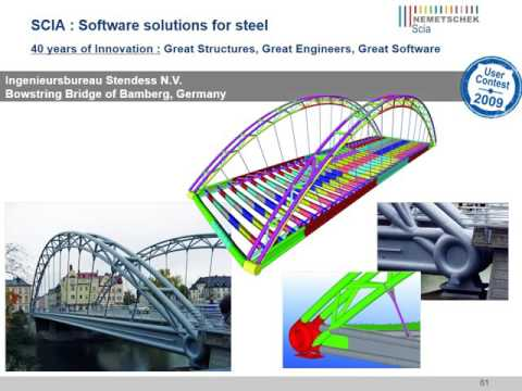 Steel projects in SCIA Engineer