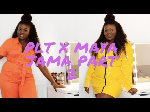 d610d7eb5b MAYA JAMA x PRETTYLITTLETHING PART 2 TRY-ON   REVIEW FOR PLUS SIZE   CURVY  GIRLS - Tinashé Irene - imclips.net