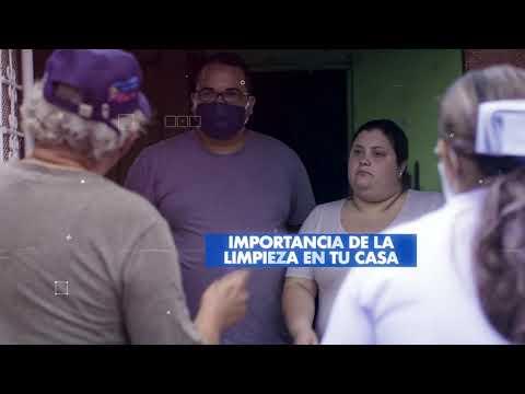 Brigadas de charlas preventivas ante el Covid-19 visitan los barrios en Nicaragua