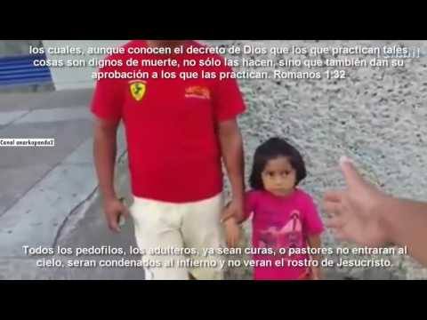 VIDEO: Captan a hombre tocando y besando a niñas en la boca. 28 de marzo 2016