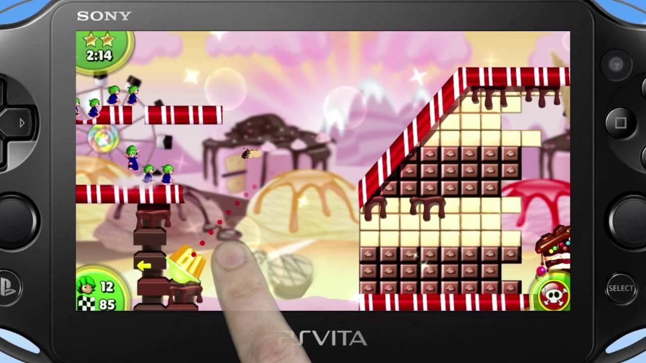 Lemmings Touch da domani su PS Vita