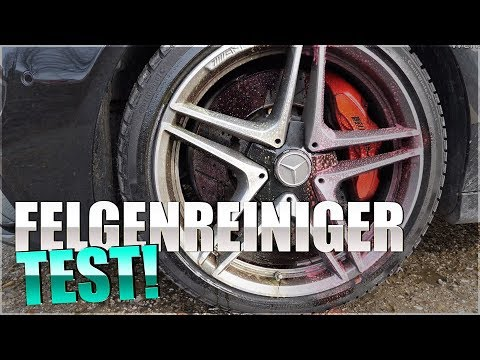 FELGENREINIGER TEST 2019 | Dr Wack P21s High End | Sonax Xtreme Felgenreiniger Plus | Tuga grün