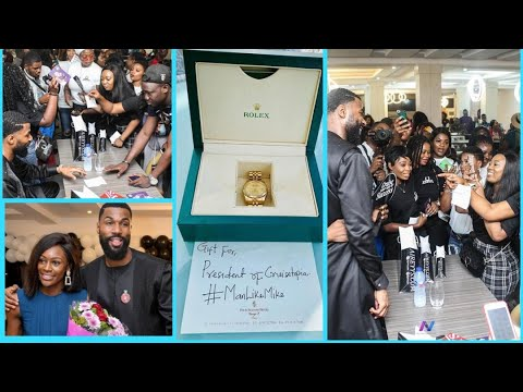 MIKE BBNAIJA 2019 GETS AN EXPENSIVE ROLEX FROM HIS FAN| BBNAIJA 2019#bbnaija2019#mikebbnaija#bbnaija