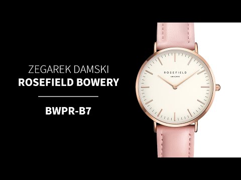 Zegarek Rosefield Bowery BWPR-B7 | Zegarownia.pl
