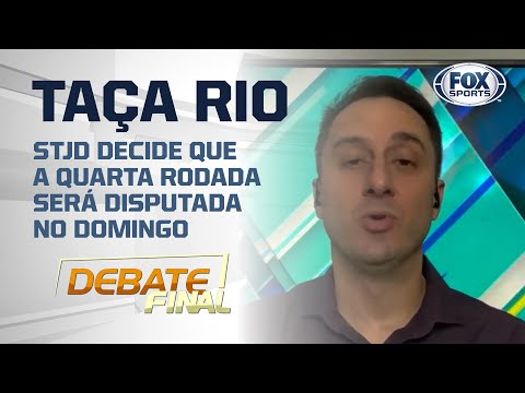 TAÇA RIO NO DOMINGO?