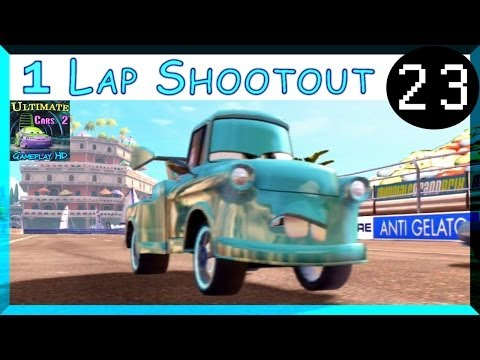 Tokyo Mater Cars 2 Awesome Race Hard Difficulty One Lap Shootout Harbor Sprint Part 23