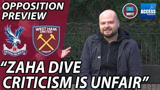 Crystal Palace vs West Ham 2-2 Draw? Oppo Preview ft Playstation Access' Rob Pearson