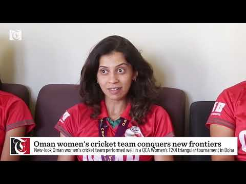 Oman women's cricket team conquers new frontiers