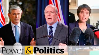 B.C. snap election called for Oct. 24