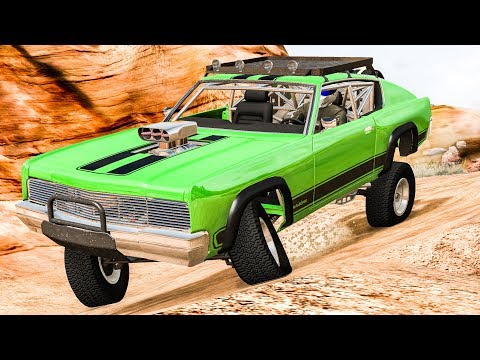 Off Road Crashes & Rollovers #8 - BeamNG DRIVE