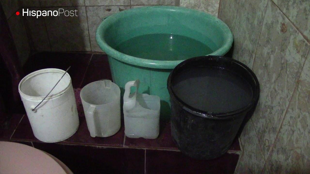 Zonas Populares de Caracas azotadas por racionamiento de agua