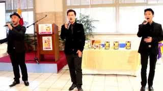 "The Filipino Pop Tenors sings ""Un Amore Cosi Grande"""
