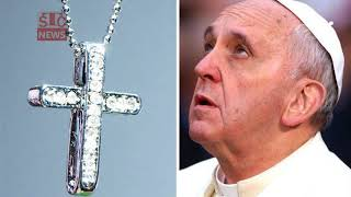 Pope slams people who wear cross necklaces: 'ABUSE of the crucifix'