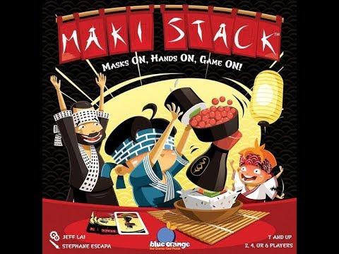 Bower's Game Corner: Maki Stack Review