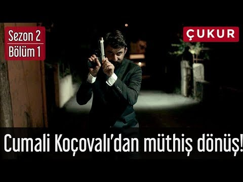 Çukur 2.Sezon 1.Bölüm - Cumali Koçovalı'dan Müthiş Dönüş!