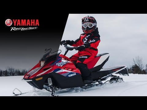2021 Yamaha SnoScoot ES in Tamworth, New Hampshire - Video 1