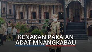 Menparekraf Sandiaga Uno Kenakan Pakaian Adat Minangkabau di PDIKM Padang Panjang