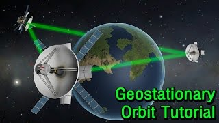 KSP 1.2: How To Create a Geostationary Relay Network