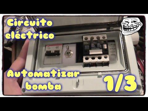 Automatizar Bomba con tanque y cisterna - Parte 1 de 3 - Circuito eléctrico.