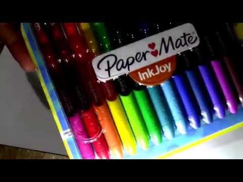 Nuevos Bolígrafos Papermate Ink Joy Gel Pens - Reseña