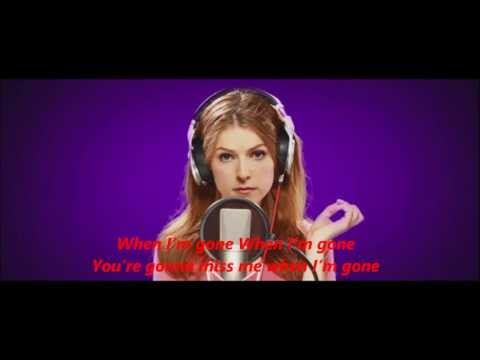 Anna Kendrick - Cups ''When I'm Gone'' (Radio Version) Pitch Perfect (Full HD +Lyrics)
