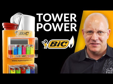 80964 BiC Tower Displayständer Paket Basic³