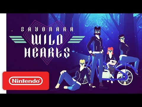 Sayonara Wild Hearts - Reveal Trailer - Nintendo Switch thumbnail