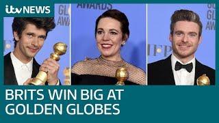 Olivia Colman and Richard Madden among British winners at the Golden Globes   ITV News