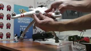 Распаковка Walkera QR X350 Pro FPV RTF (DEVO F7 2D Gimble iLOOK) с GPS