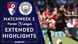 Bournemouth v. Manchester City   PREMIER LEAGUE HIGHLIGHTS   8/25/19   NBC Sports