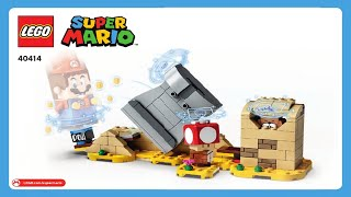 LEGO Instructions   Super Mario   40414