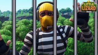 A FORTNITE PRISON BREAK!