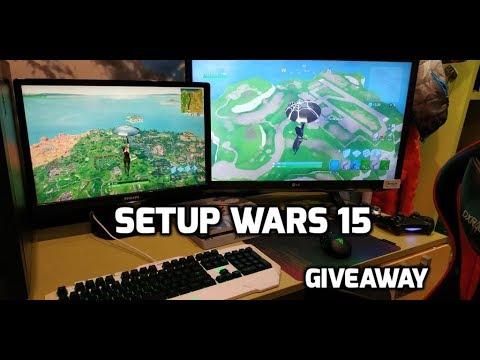 SETUP WARS 15 + Giveaway