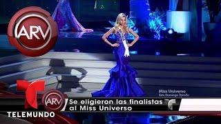 Resumen de competencia preliminar de Miss Universo 2014-15   Al Rojo Vivo   Telemundo